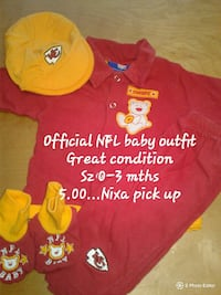 NFL Baby outfit