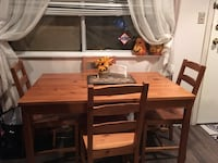 brown wooden dining table set Maple Ridge, V4R
