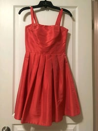 Coral Taffeta Dress Edmonton, T6M 2X5