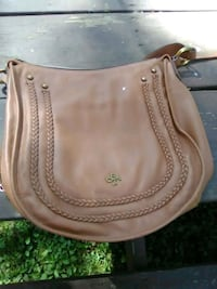 women's brown leather sling bag 135 mi