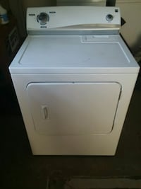 white front-load clothes washer Pace, 32571