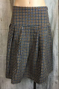 Super cute wool blend skirt knee length size 3