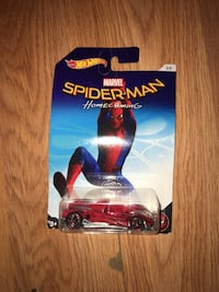 Hot Wheels Spider-Man Homecoming diecast toy car pack Rochester, 14605