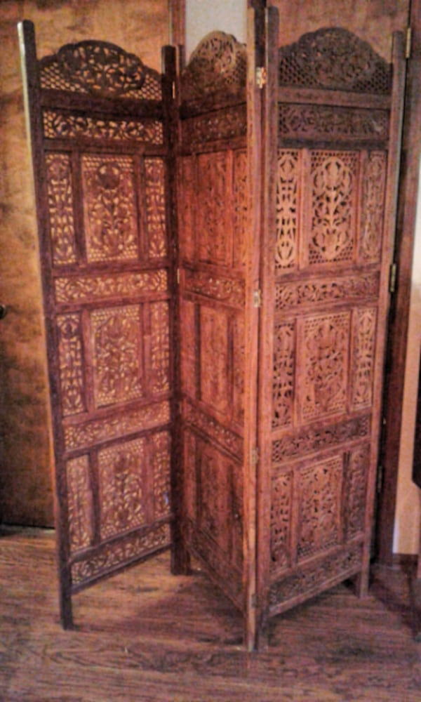 Ornate Room Divider from Pier One 8b6a8bc0-05c3-4fa9-a0f8-a611371ef891
