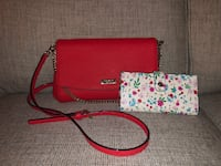 pink and white leather crossbody bag Charles Town, 25414