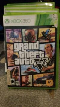 Grand Theft Auto Five Xbox 360 game case Metairie, 70003