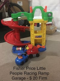 Fisher Price Little People Racing Ramp Garage Winnipeg, R2V 2R4