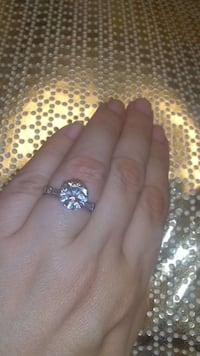 2.30 carat platinum diamond ring Atlanta