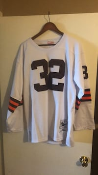 white and black NFL jersey Twinsburg, 44087