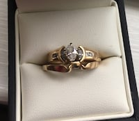 14 Karat 5:8 CTTW. Marquis Diamond Ring. Size 6.5 Price Firm. Lots of gold and we all know the price of gold. Great gift for Valentines Day or another Special Occasion ! Manlius, 13104