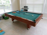 8' Pool Table, Cues, Balls - Budget Man Cave Candy Woodbridge, 22192