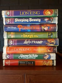 Disney master pieces VHS collection  Halifax, B3P 1H3