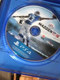 Madden 16 PS4 Game