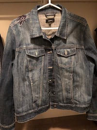 blue denim button-up jacket Saskatoon, S7K