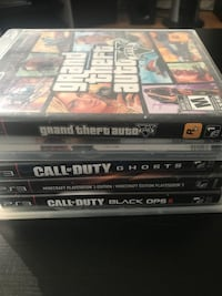 6 PS3 games for $20 Toronto, M9A 4J5