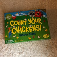 Count Your Chickens Children's Board Game Toy Like New  Haverhill, 01832