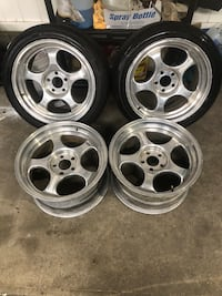 18' Forgeline RS 5x114.3 18x10 Elmont, 11003