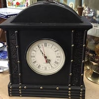Working Big Vintage Style Mantle Clock Battery Ope Mississauga