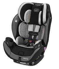 #91) Evenflo Every Stage dlx Car Seat (new in box)