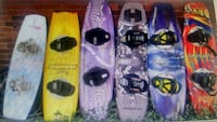 Top Line Wakeboards with Bindings & Fins. Folsom, 95630