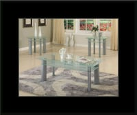 Glass white coffee table Rockville, 20847