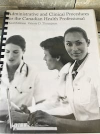 Administrative and clinical health procedures for the Canadian health professional  Mississauga, L5W 0G3