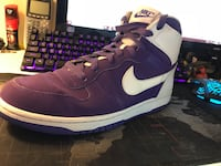 Nike Dunk Hi  | purple colorway | rare | size 11 Herndon, 20170