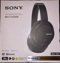 SONY WH-CH700N WIRELESS NOISE CANCELING STEREO HEADPHONES. West Palm Beach