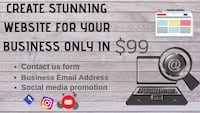 Create website for your business in $99 Hamilton