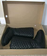 UGG Leather DIAMOND QUILTED Classic Tall Boots 8 Hyattsville
