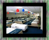 Full mattress plush with box spring Upper Marlboro, 20772