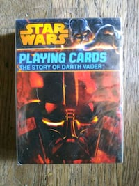 Star Wars playing cards