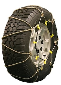 Snow chains never used, one pair
