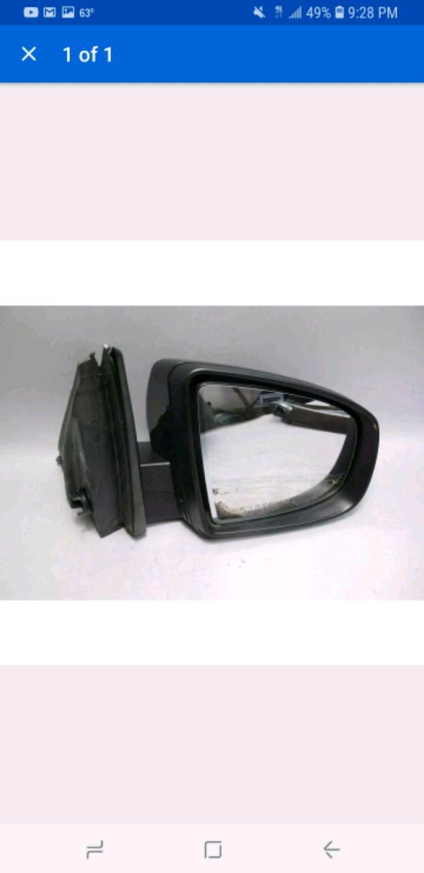 2 BMW X5 Black Automatic motorize side mirrors