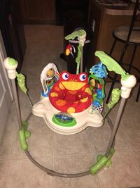 baby's white and multicolored Fisher-Price jumperoo Tucson, 85756