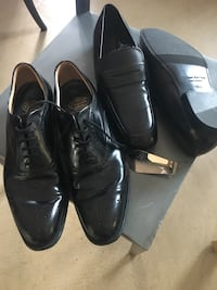 Men' dress shoes 2 pairs Vancouver, V6B 6N6