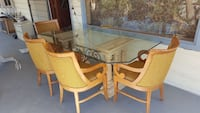 Glass top dining table with 4 chairs Las Vegas, 89108