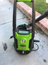 Green and black pressure washer Castaic, 91384