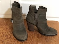 Leather/Suede booties size 4 Piedmont, 94611
