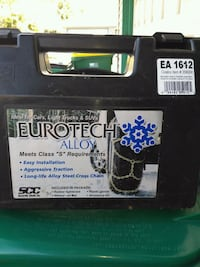 Eurotech Snow  Cables /Chains