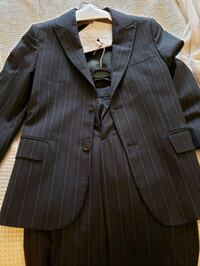 Youth suit - black with purple pinstripes Vaughan, L4L 9N3