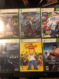 Xbox 360 games All 6 for $20!!! Excellent condition!! 3151 km