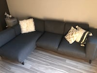 Grey Couch (pillows additional $100) Washington