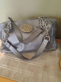 gray Michael Kors leather shoulder bag Laval, H7W 2R8