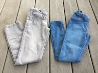 Girls pair of shiny pants size 10 both for $8 Hagerstown, 21740