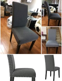 Brand New. Inbox chairs. Grey. $120 each.  Mississauga