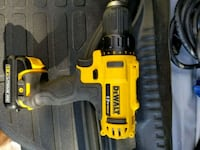 yellow and black DeWalt cordless power drill Germantown, 20876