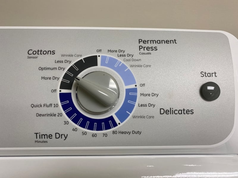 GE Washer and Dryer Set 7