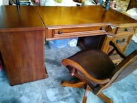 Hard wood Office Desk with chair Germantown, 20876
