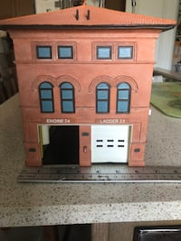 Very Rare Code 3 Collectible Fire station.